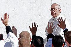Франциск взошел на престол