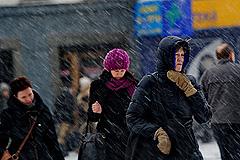 Москва снова во власти снегопада