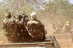 Мятежники захватили Банги