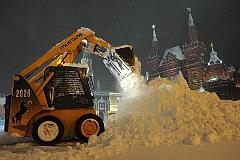 В Москве снова выпал снег