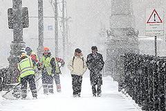 Москву ждут снег и мороз