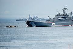 Десантные корабли зайдут в Тартус