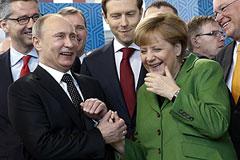 Путин успокоил Германию