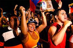 Венесуэла марширует