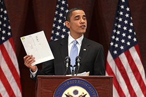 """""""Ядовитое"""" письмо для Обамы"""