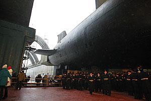 Российский флот получит три субмарины