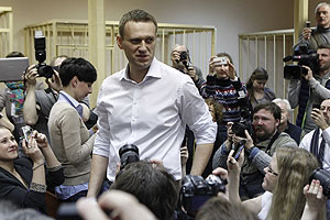 Навальный не признает вину