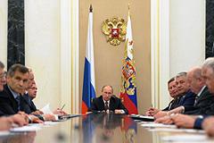 Путин провел заседание СБ РФ по Афганистану