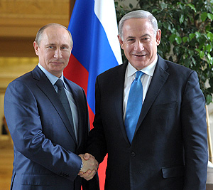 Путин и Нетаньяху обсудили Ближний Восток