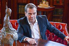 Медведев о Путине и правительстве