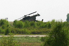 Ми-8 разбился под Саратовом