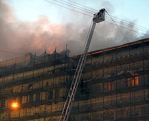 В Петербурге сгорел Технологический институт