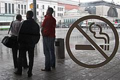 Курильщиков начнут штрафовать не сразу
