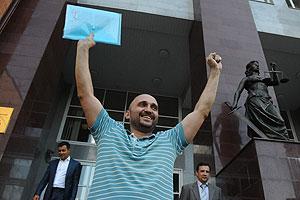 Активиста ФАР не стали арестовывать