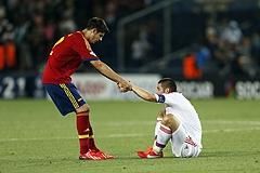 Молодежка уступила испанцам на старте Евро