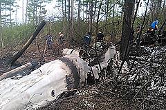 Спасатели нашли обломки Ми-8