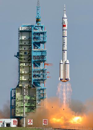 Китайцы в космосе