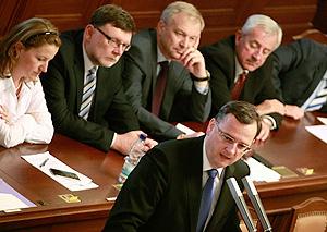 Правительство Чехии уходит из-за коррупции