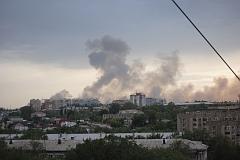В России снова рвутся снаряды
