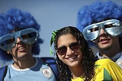Бразилия - Уругвай. Трансляция