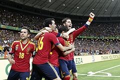 Испания снова сильнее Италии