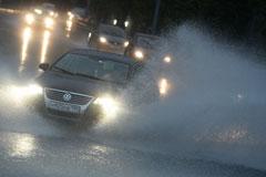 Последствия стихии в Москве