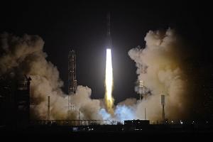 """На Байконуре упала ракета """"Протон"""""""