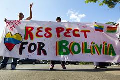 Инцидент с Моралесом возмутил Боливию