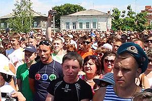 Убийство в Пугачеве спровоцировало бунт