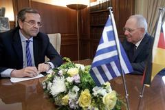 Афины встречают министра финансов ФРГ