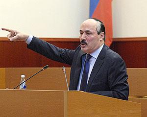 Правительство Дагестана отправили в отставку