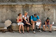 Туристы застряли в Италии