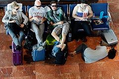 Российских туристов доставят из Италии
