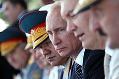 Путин недоволен перевооружением