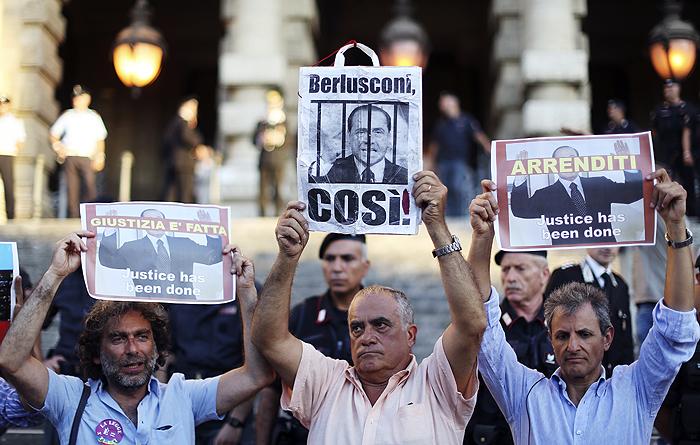 Суд Италии оставил в силе приговор Берлускони