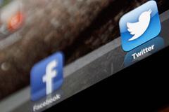 Facebook и Twitter борются за рекламу