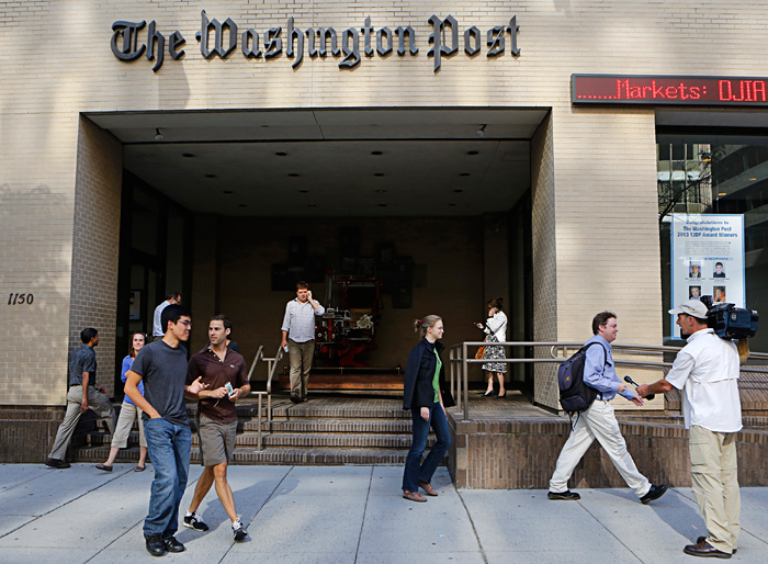 Создатель Amazon купил The Washington Post