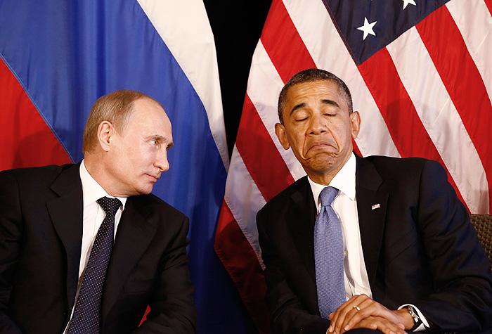 Обама не будет встречаться с Путиным