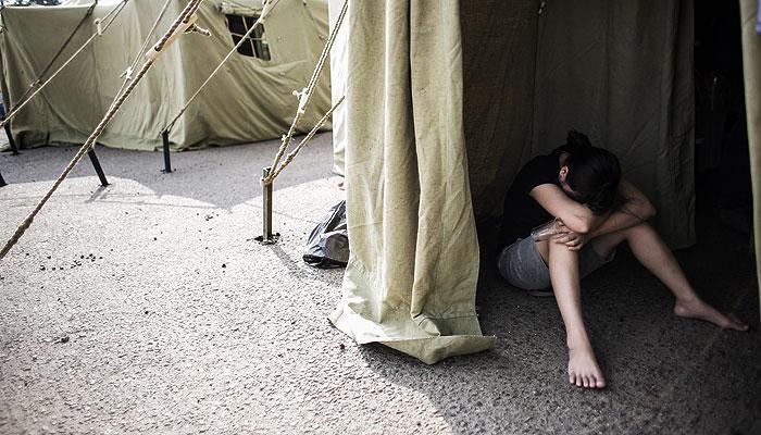 В Москве задерживают укрывателей мигрантов