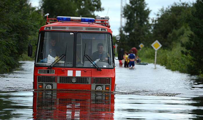 Затопленные регионы подсчитывают ущерб