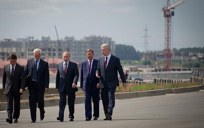 Путин обсудил строительство ЦКАД
