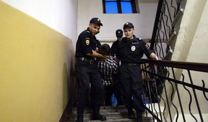 Аресты и штрафы для сторонников Навального