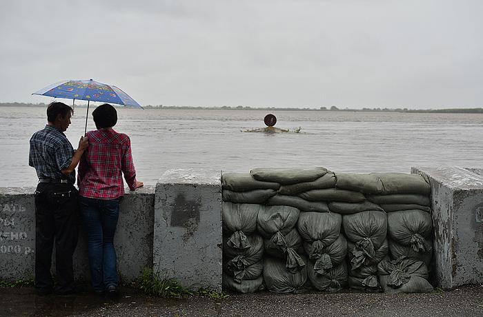 Вода в регионах не отступает