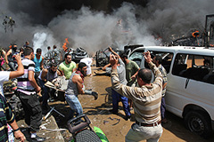 Ливан бомбят и взрывают