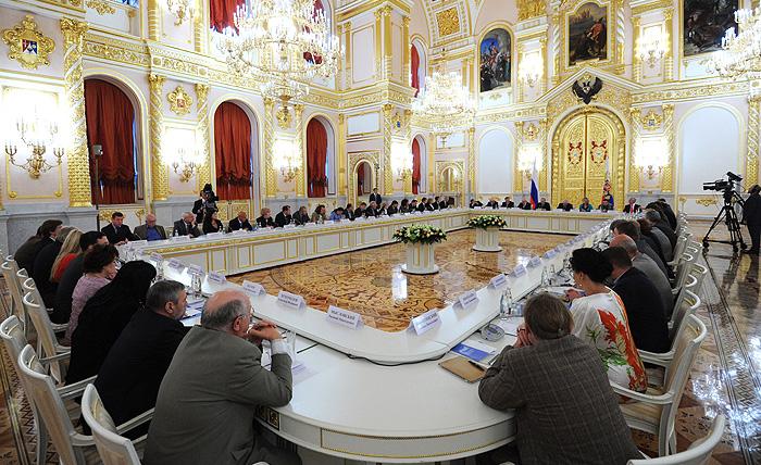 Путин встретился с правозащитниками