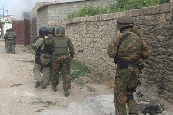 Боевиков убили вместе с главарем
