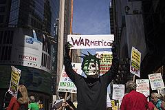 Американцы протестуют против войны