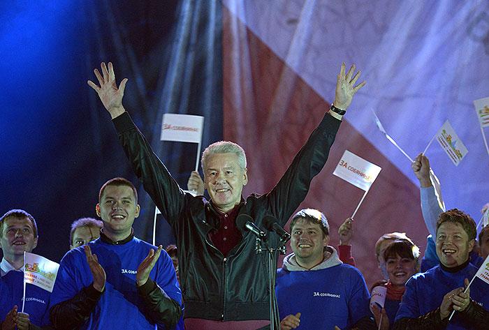 Москва выбрала Собянина