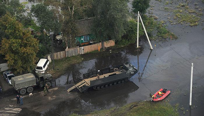 Комсомольск-на-Амуре уходит под воду