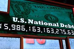 США достигли потолка госдолга